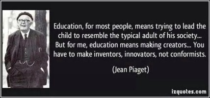 Jean Piaget quote